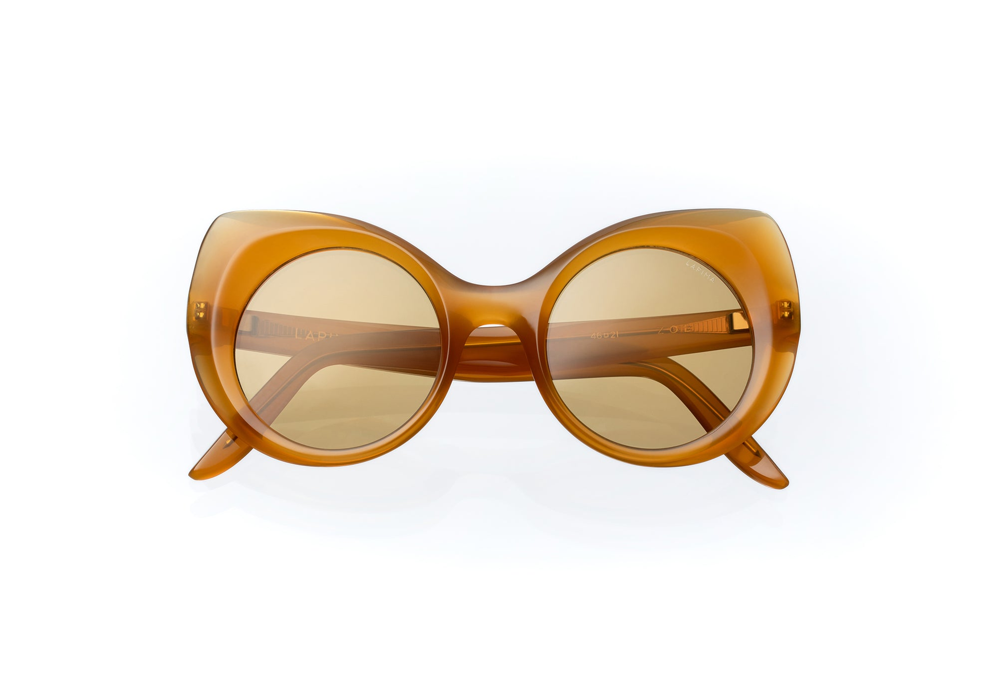 AMBER VINTAGE - AMBER ACETATE | YELLOW LENSES