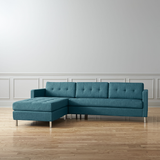 Ditto Ii Peacock Sectional Sofa
