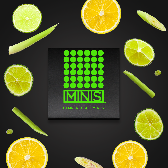 LEMONGRASS CITRUS - 8 MINTS