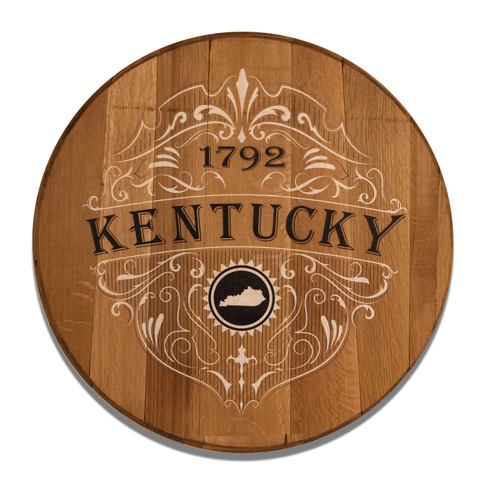 Kentucky 1792 Reclaimed Barrel Head
