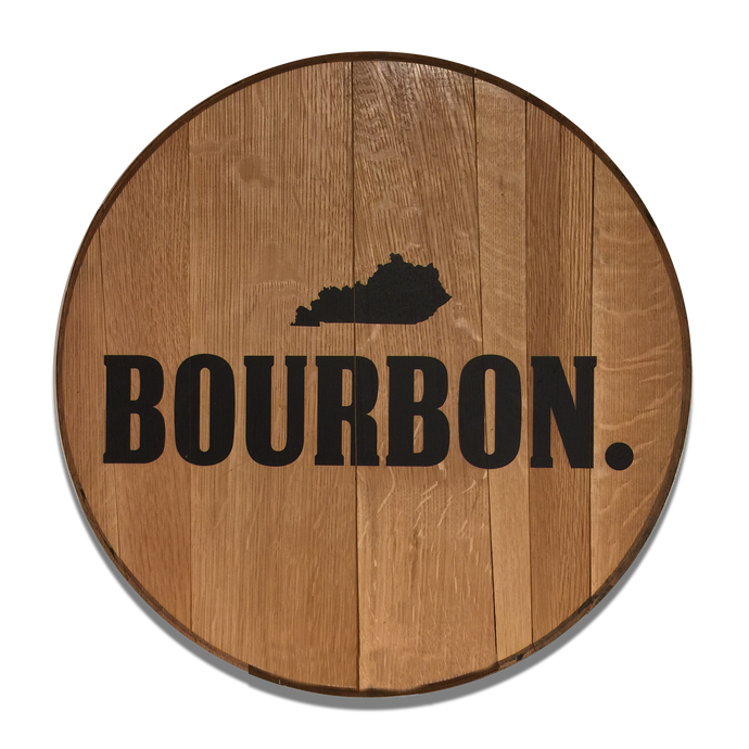 Kentucky Bourbon Reclaimed Barrel Head