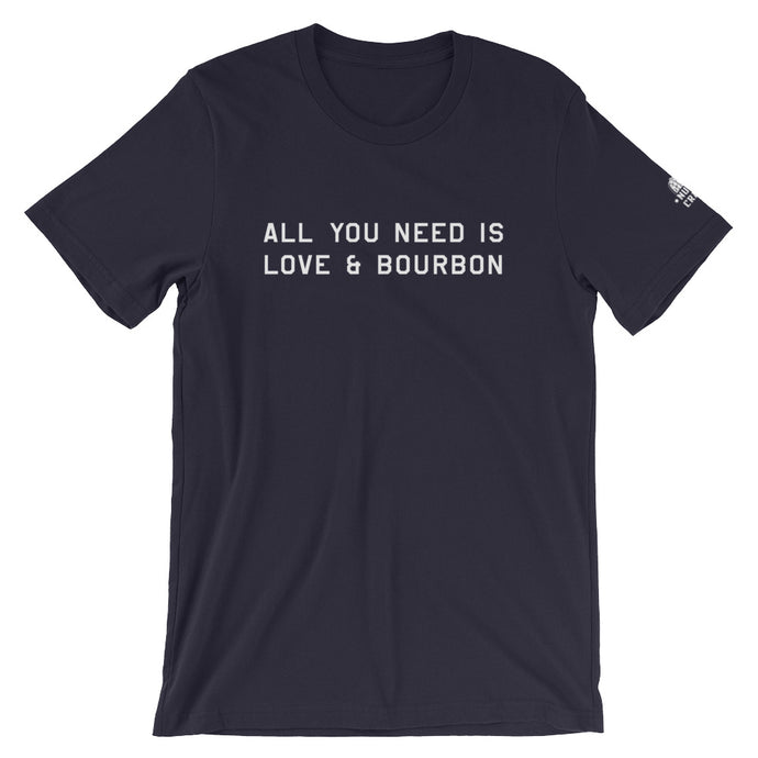 All You Need is Love & Bourbon Tee