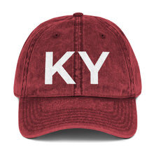 Load image into Gallery viewer, KY Vintage Cap - Red