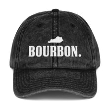 "Load image into Gallery viewer, ""The Kentucky Bourbon"" Vintage Cap - Black"