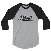 Load image into Gallery viewer, Story Attic Raglan Shirt