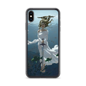 Waiting in the Lake iPhone Case