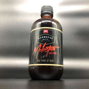 Mobster BBQ Sauce - 500ML BOTTLE - MAFIA MADE