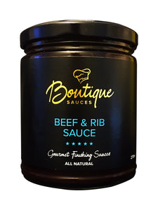 BEEF & RIB SAUCE - Boutique Sauces
