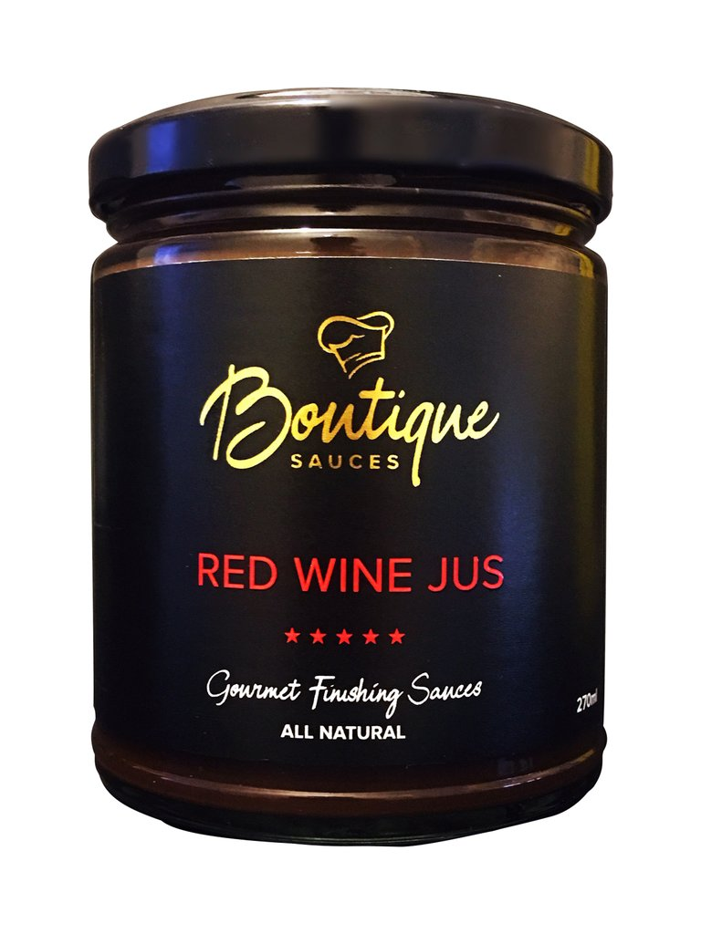 RED WINE JUS - Boutique Sauces
