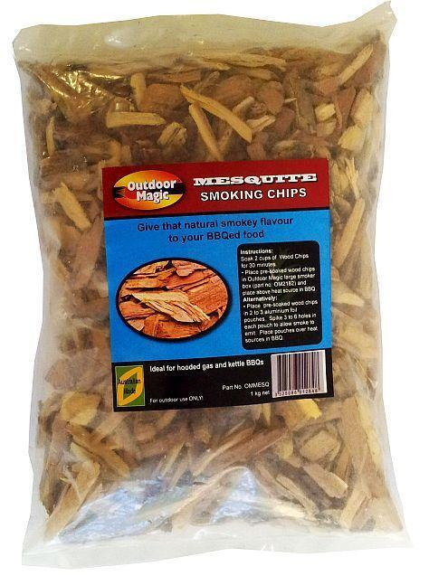 SMOKING CHIPS - MESQUITE 1KG