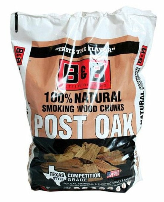 B&B Wood Smoking Chunks - 3.1kg