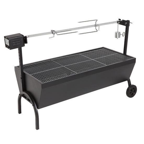 Charcoal Spit Roaster Deluxe