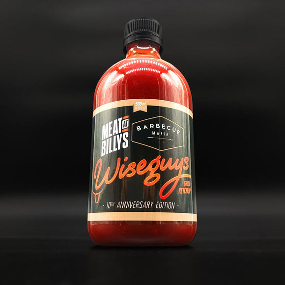 Wiseguys Grill Ketchup MAB & MAFIA COLLAB - 500ML BOTTLE