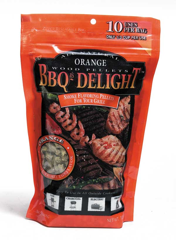 BBQrs Delight Smoking Pellets - Orange 450g