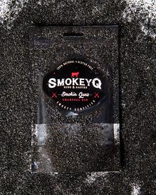 SMOKEY Q - Smokin Guns Charcoal Rub 150G