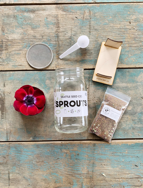 Seattle Seed Company - Sprouting Starter Kit