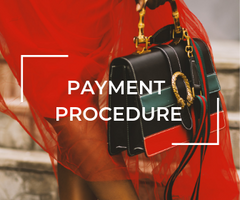 PAYMENT PROCEDURE FOR CONSIGNMENT AT THE PLUSH POSH