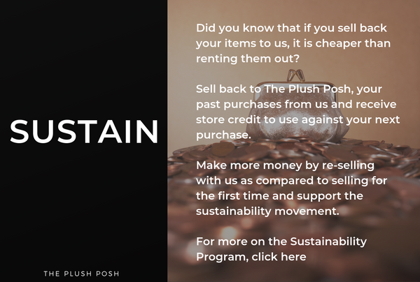 Re-consign at The Plush Posh and join the sustainability Program