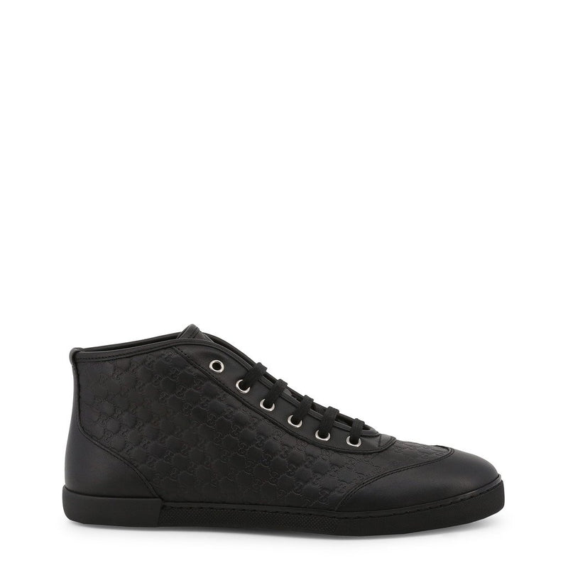 Buy & Consign Authentic Gucci Micro Guccissima High Top Sneakers Black at The Plush Posh