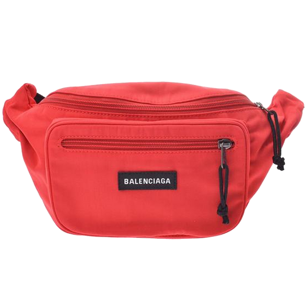 Buy & Consign Authentic Balenciaga Rouge Explorer Belt Bag at The Plush Posh