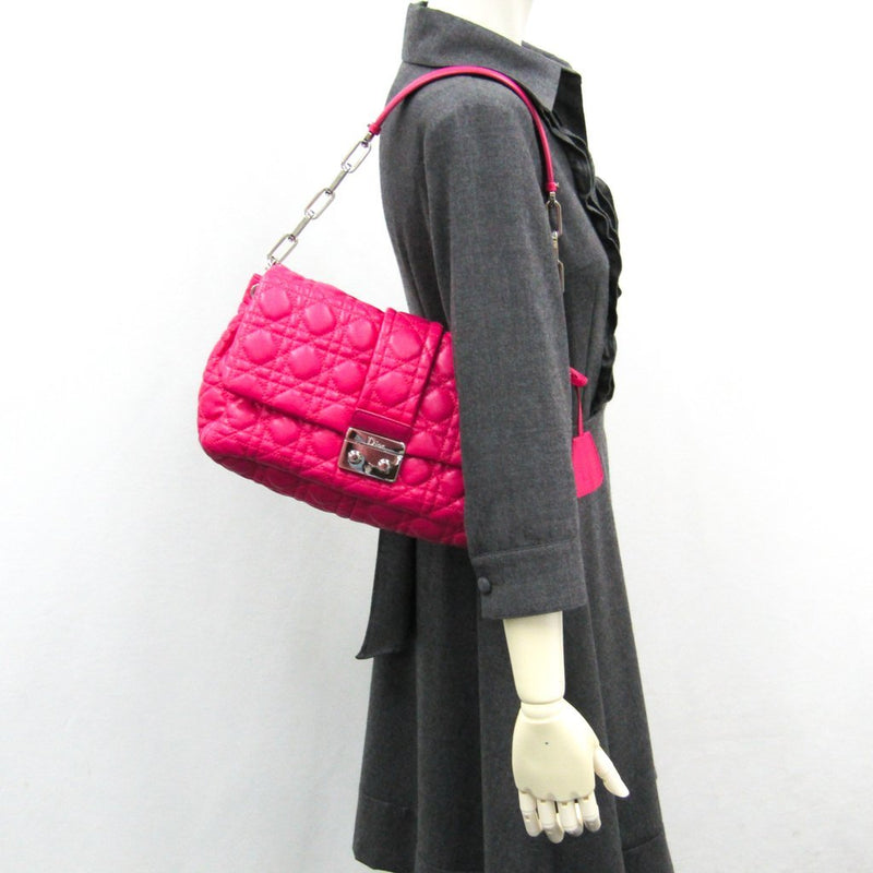Buy & Consign Authentic Dior Pink Cannage Quilted Leather New Lock Flap Bag at The Plush Posh