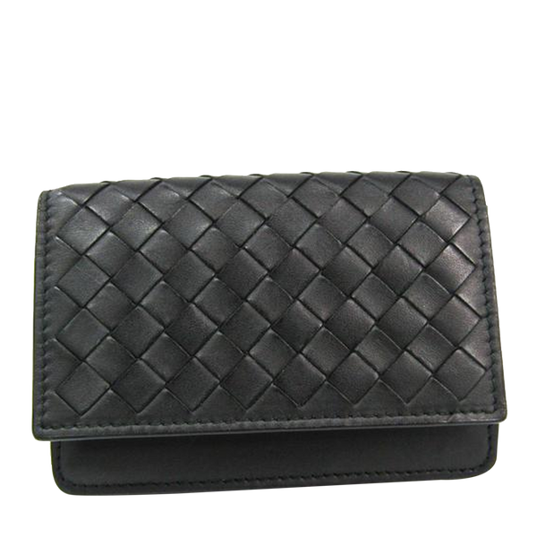 Buy & Consign Authentic Bottega Veneta Intrecciato Calf Skin Leather Card Case at The Plush Posh