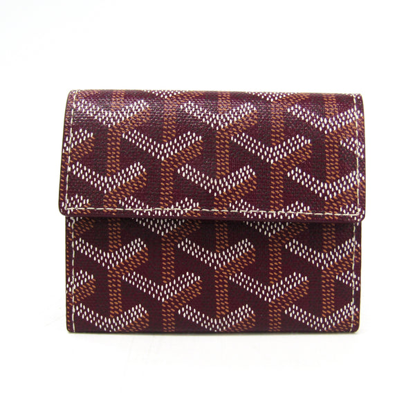 Buy & Consign Authentic Goyard Monnaie Marigny Card Coin Wallet Goyardine Brown at The Plush Posh