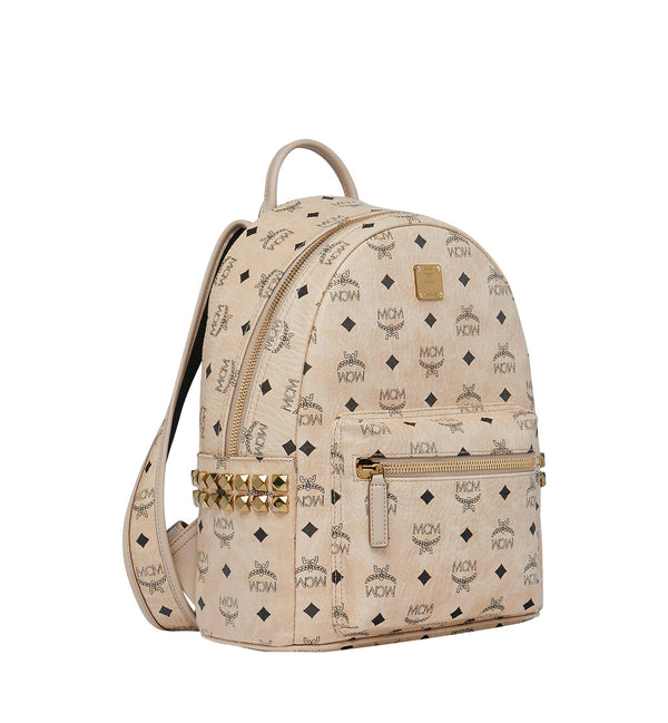 MCM Visetos Stark Side Studs Backpack