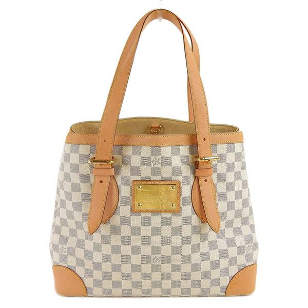 Buy & Consign Authentic Louis Vuitton Damier Azur Hampstead MM at The Plush Posh