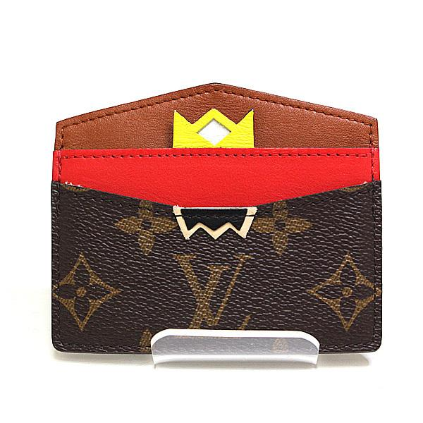 Buy & Consign Authentic Louis Vuitton Monogram Porto Cult Saanpur Card Case at The Plush Posh