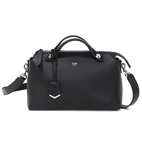 Buy & Consign Authentic Fendi By The Way Black Leather Small Boston Bag at The Plush Posh