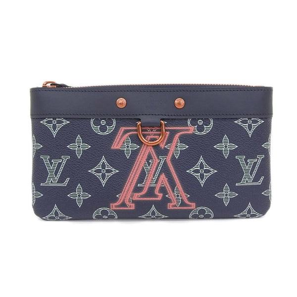Buy & Consign Authentic Louis Vuitton Monogram Ink Upside Down Pochette at The Plush Posh