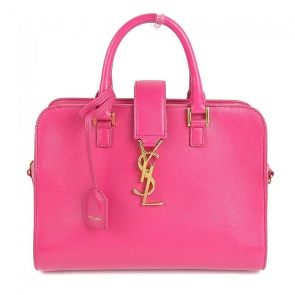 Buy & Consign Authentic Yves Saint Laurent Leather Handle Bag at The Plush Posh
