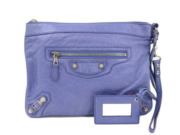 Buy & Consign Authentic Balenciaga Agneau Classic Porte-Monnaie Coin Purse Purple at The Plush Posh