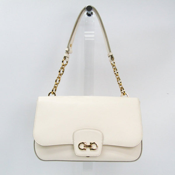 Buy & Consign Authentic Salvatore Ferragamo Gancini Flap Bag at The Plush Posh