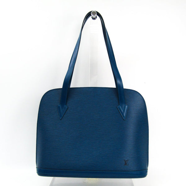 Buy & Consign Authentic Louis Vuitton Epi Lussac Shoulder Bag Toledo Blue at The Plush Posh