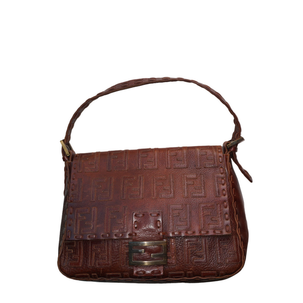 Fendi Selleria Mama Leather Brown
