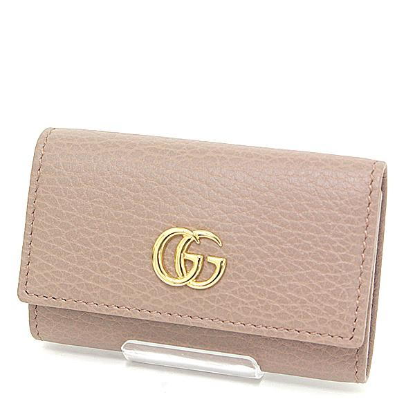 Buy & Consign Authentic Gucci Petit Marmont Leather Key Case Beige at The Plush Posh