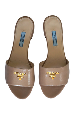 Prada Saffiano Leather Flats