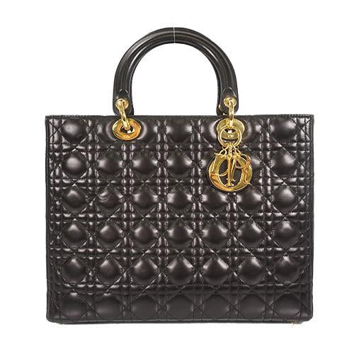 Buy & Consign Authentic Lady Dior Large Tote at The Plush Posh