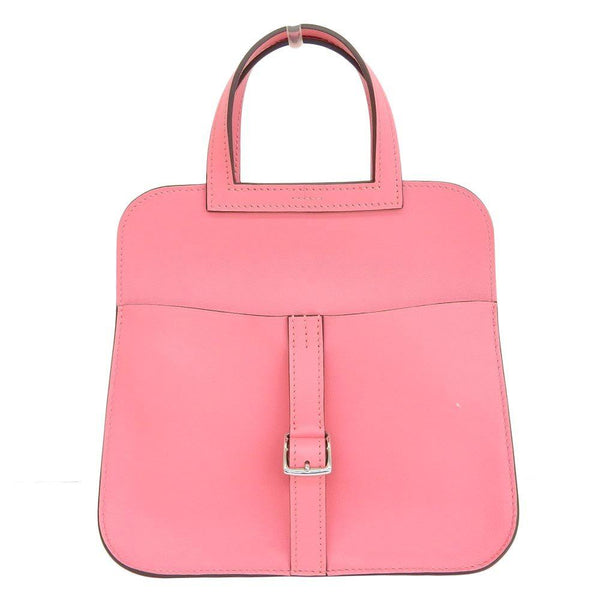 Buy & Consign Authentic Hermes Halzan Mini Bag Rose Pink at The Plush Posh