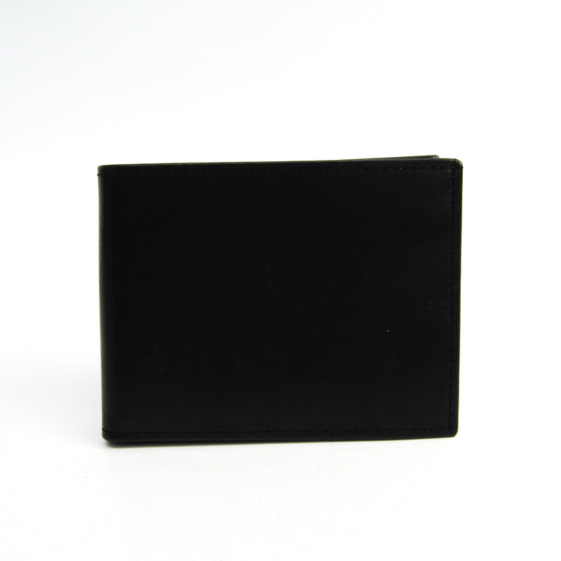 Buy & Consign Authentic Coach Men's Leather Bi Fold Wallet Black at The Plush Posh