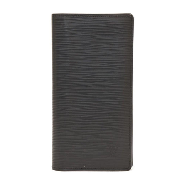 Buy & Consign Authentic Louis Vuitton Epi Portofouille Braza Men's Epi Leather Long Wallet (bi-fold) Noir at The Plush Posh