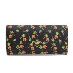 Buy & Consign Authentic Prada Saffiano Leather Palm Tree Print Wallet at The Plush Posh