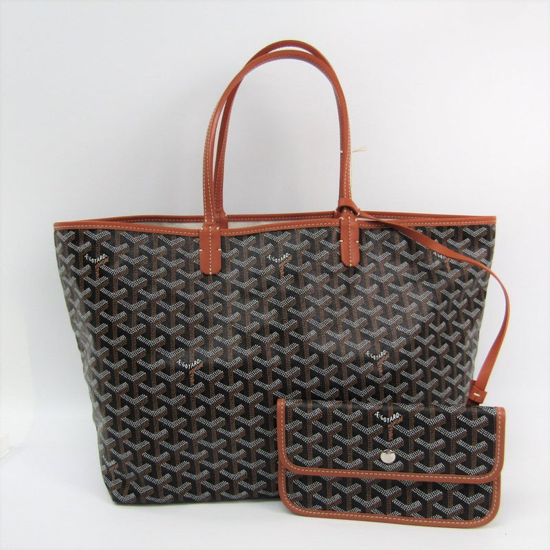 Buy & Consign Authentic Goyard Goyardine Saint Louis GM Black Gold at The Plush Posh