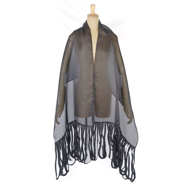 Buy & Consign Authentic Givenchy Vintage Large Fringe Stole at The Plush Posh