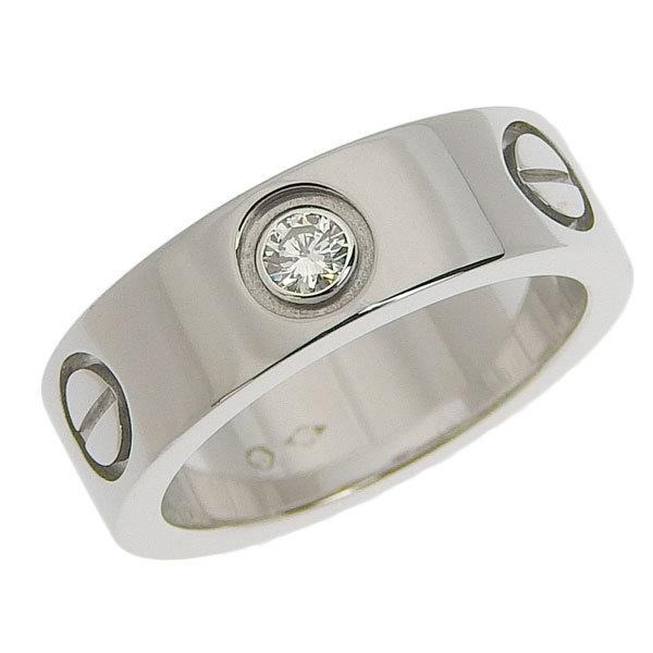 Buy & Consign Authentic Cartier Diamond 5mm Love Band One Diamond at The Plush Posh