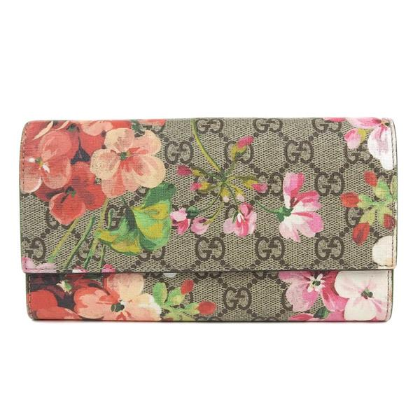 Buy & Consign Authentic Gucci GG Supreme Monogram Blooms Print Continental Wallet at The Plush Posh