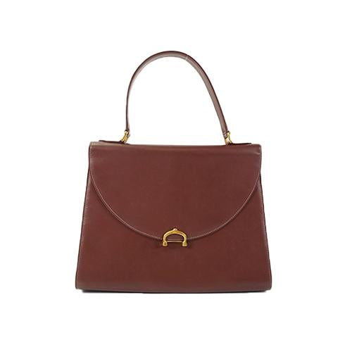 Buy & Consign Authentic Must De' Cartier Wine Red Satchel at The Plush Posh