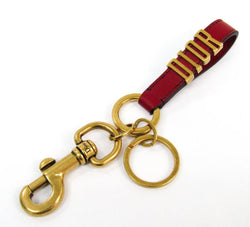 Buy & Consign Authentic Christian Dior Calfkskin Dior Key Ring Red at The Plush Posh